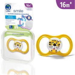 Ciuccio ultraventilato Smile - Tigre
