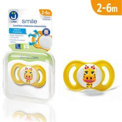 Ciuccio ultraventilato Smile - Giraffa