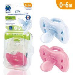 Ciucci tutti morbidi Joy 0-6m - Pack Trasparente/Rosa