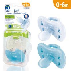 Ciucci tutti morbidi Joy 0-6m - Pack Trasparente/Azzurro