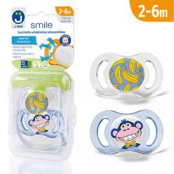 Ciucci ultraventilati Smile - Pack Scimmia/Texture