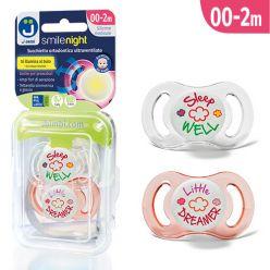 Ciucci ultraventilati Smile Night - Pack Little Dreamer Rosa/Sleep Well