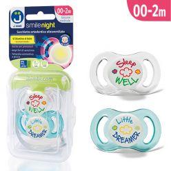Ciucci ultraventilati Smile Night - Pack Little Dreamer Azzurro/Sleep Well