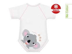 Body neonato caldo cotone bio - Koala
